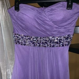 Dresses & Skirts - Strapless Prom Dress